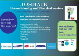Aircon and electrical services