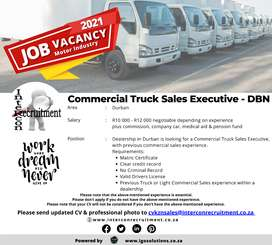 Commercial Truck Sales Executive - DBN