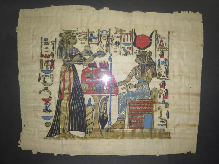 Egipatski papirusi bez okvira dim cca 33x40 cm 0