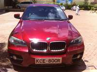 BMW X6 red wine colour sunroof 0