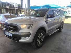 Ford Ranger 3.2 6speed Wildtrack Double Cab Canopy Auto