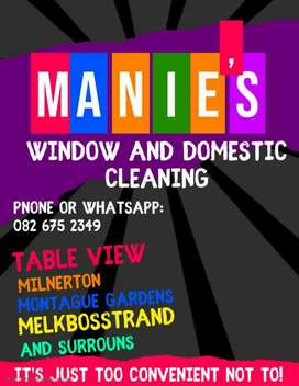 Manie's Window and Domestic Cleaning