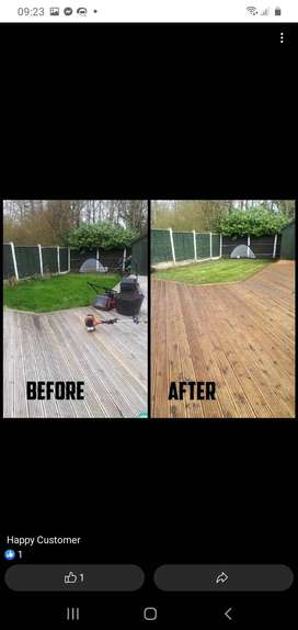 Cleaning jobs or garden services