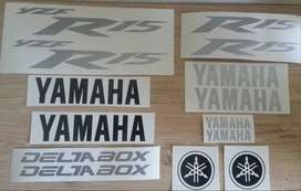 R15 decals / graphics / vinyl cut sticker set