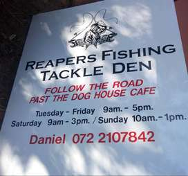 Reapers Fishing tackle, Pennington