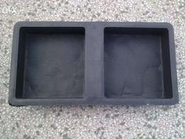 форма для виготовлення бруківки (плитки) брук west2 15x14x4 cm