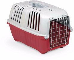 Переноска для кошек и собак Pratiko,55x36x36, RED, вес до 18 кг