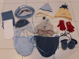 Sprzedam czapki, szaliki, apaszki i rękawiczki po córci.