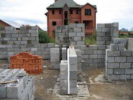 Выполним строительство домов под ключ. Кладка стен. Фундамент.