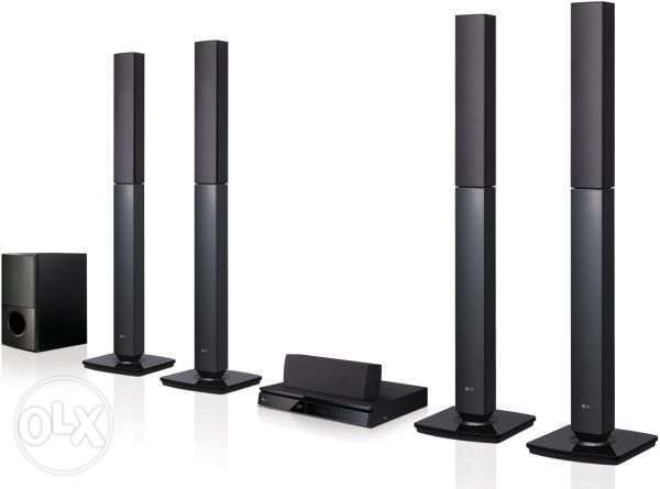 LG 657 Home theatre system 0