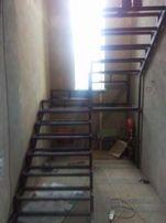 Металический каркас лестниц