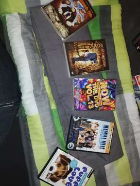 Various dvds and game