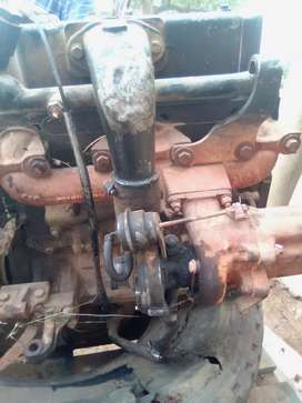 Tata turbo diesel engine and gearbox
