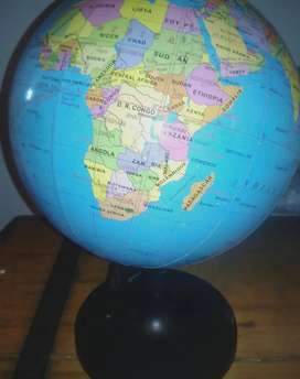 Spinning World Atlas Globe