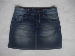 Фирменная джинсовая юбка C&A (Германия) размер/рост 152