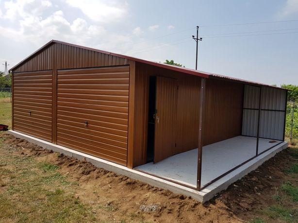 Garaże drewnopodobne / Garaże blaszane Kościan - image 6