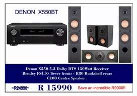 Denon & Bentley Acoustics Set