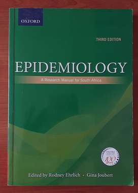 Oxford Epidemiology 3rd Edition A Research Manual for South Africa