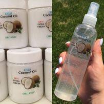 Нерафинированное кокосовое масло для волос и тела Organic. ОПТ/ДРОП
