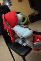 Nosidełko dla dziecka czerwone nowe TINY WORLD