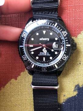 INFANTRY MILITARY CO. PACIFISTOR 44mm WATCH