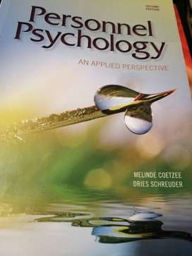 Personnel Psychology text book for sale