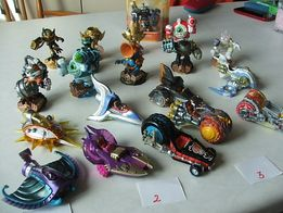 Superchargers Figurki, skylanders, PS3, PS4, X 360, Wii kolekcja