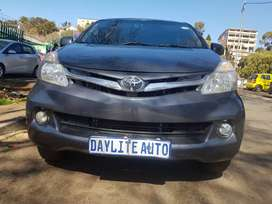 2014 Toyota Avanza 1.5 TX with 7 seats
