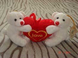 Мягкая игрушка Влюбленные мишки - 200 руб