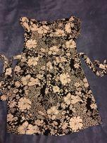 Tunika sukienka ciążowa letnia H&M Mama r.S