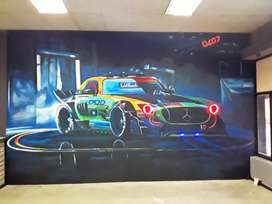 Mural commissions and sign writing