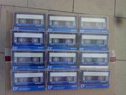 Аудиокассеты Sony EF90 (Japan)c записями: рок,диско,Задорнов.