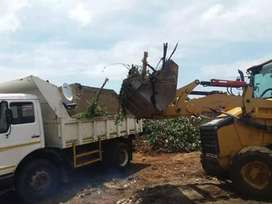 Tlb and Tipper trucks hire services at R 600 per load