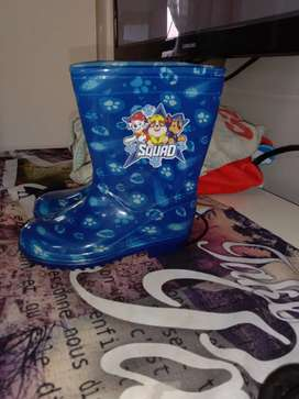Paw patrol toddler boots size 9