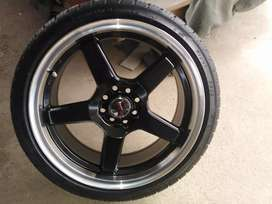 17 inch A line rims only.