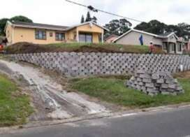 Retaining walls Upland in sterling