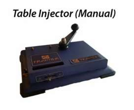 Table top injector