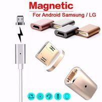 Магнитный микро USB переходник для зарядки адаптер кабель шнур питания