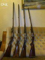 Антикварное охотничье ружье HUBERT