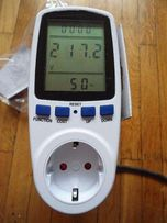 Ваттметр \ энергометр \ анализатор мощности электроприборов
