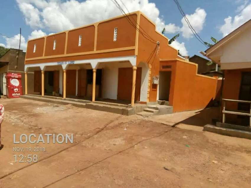 FOUR RENTAL UNITS OF DOUBLE ROOMS FOR SALE AT NANSANA EACH EARNING 0