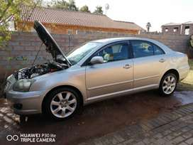 Toyota Avensis Stripping for parts.