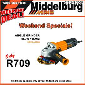 INGCO Angle Grinder 950W 115MM ONLY R709