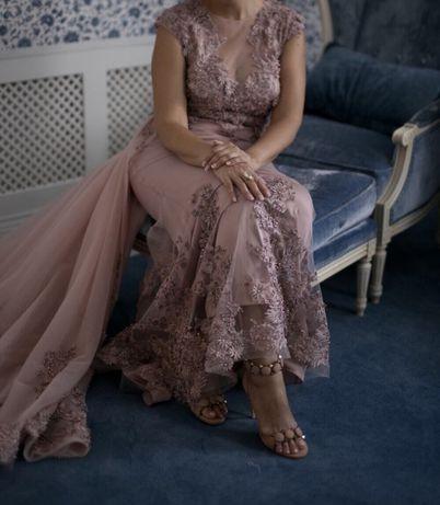 Продам шикарное вечернее (свадебное )Платье Одесса - изображение 1