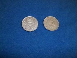 Moneta 5 forint Węgry szt.2,monety,numizmatyka.