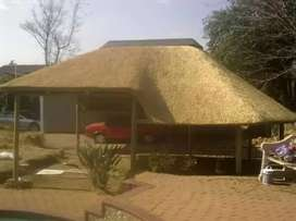 Thatch lappas and swimming pools in limpopo
