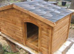 Деревянная будка для собаки, утепленная.