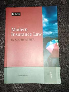 Modern Insurance Law in South Africa