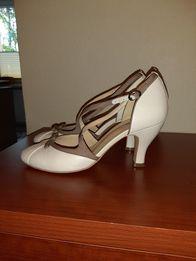 Buty skórzane damskie rozmiar 38