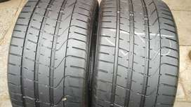 265/35/19 Tyres Pirelli for Mercedes-Benz and BMW sale 85% treat left
